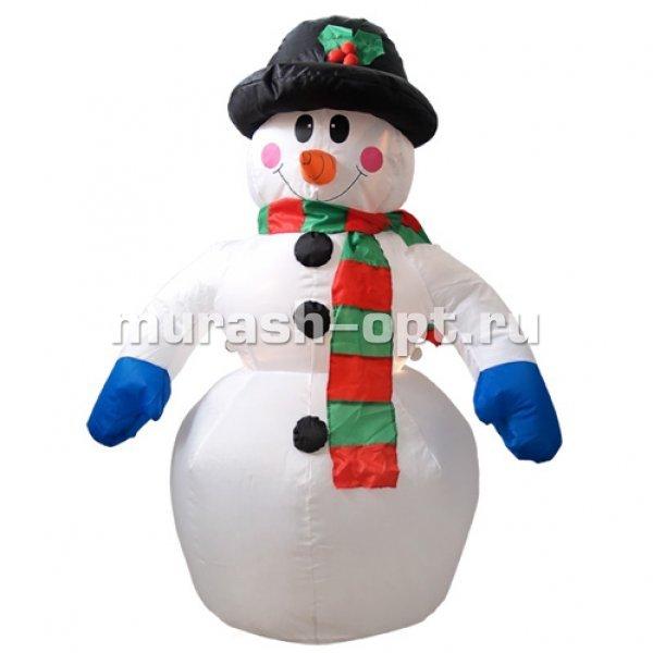Как сделать снеговика новогодняя игрушка